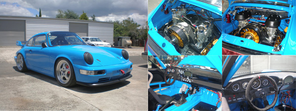 Porsche 964 CS 3.5L Race Car Build